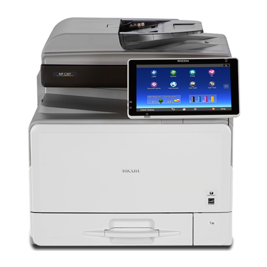 Ricoh Copiers:  The Ricoh MP C307 Copier